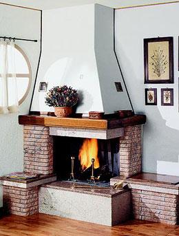 Salotto con camino angolare idee per il design della casa for Salotto con camino arredamento