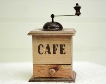 Scatola porta caffe utensile per la cucina
