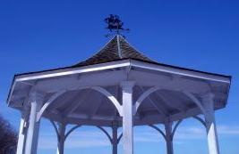 Arredo giardino tetto gazebo