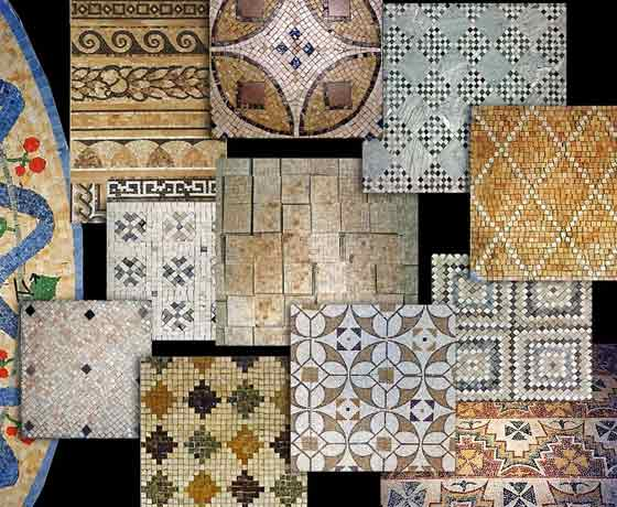 I pavimenti tipi di materiali per i pavimenti for Mosaici pavimenti interni